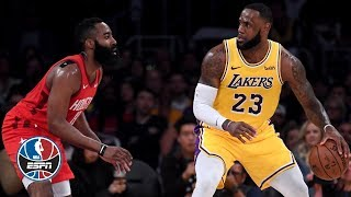 LeBron James leads Lakers' comeback, Rockets' James Harden extends 30-point streak | NBA Highlights