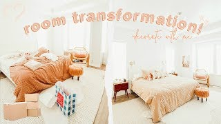 ROOM TRANSFORMATION! Unpack & Organize With Me! | Aspyn Ovard
