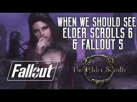 Elder Scrolls VI & Fallout 5 - How Long Will We REALLY Have To Wait? The Expected Release Dates!