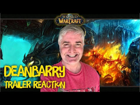 World Of Warcraft: Cataclysm PLUS Wrath Of The Lich King Cinematic REACTIONS
