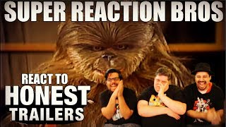 SRB Reacts to Honest Trailers - Star Wars Spinoffs (Holiday Special & More)