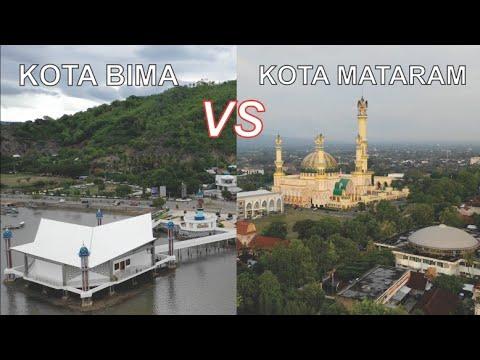 Kota Mataram VS Kota Bima, Kota Terbesar Di Pulau Lombok Dan Sumbawa Nusa Tenggara Barat NTB