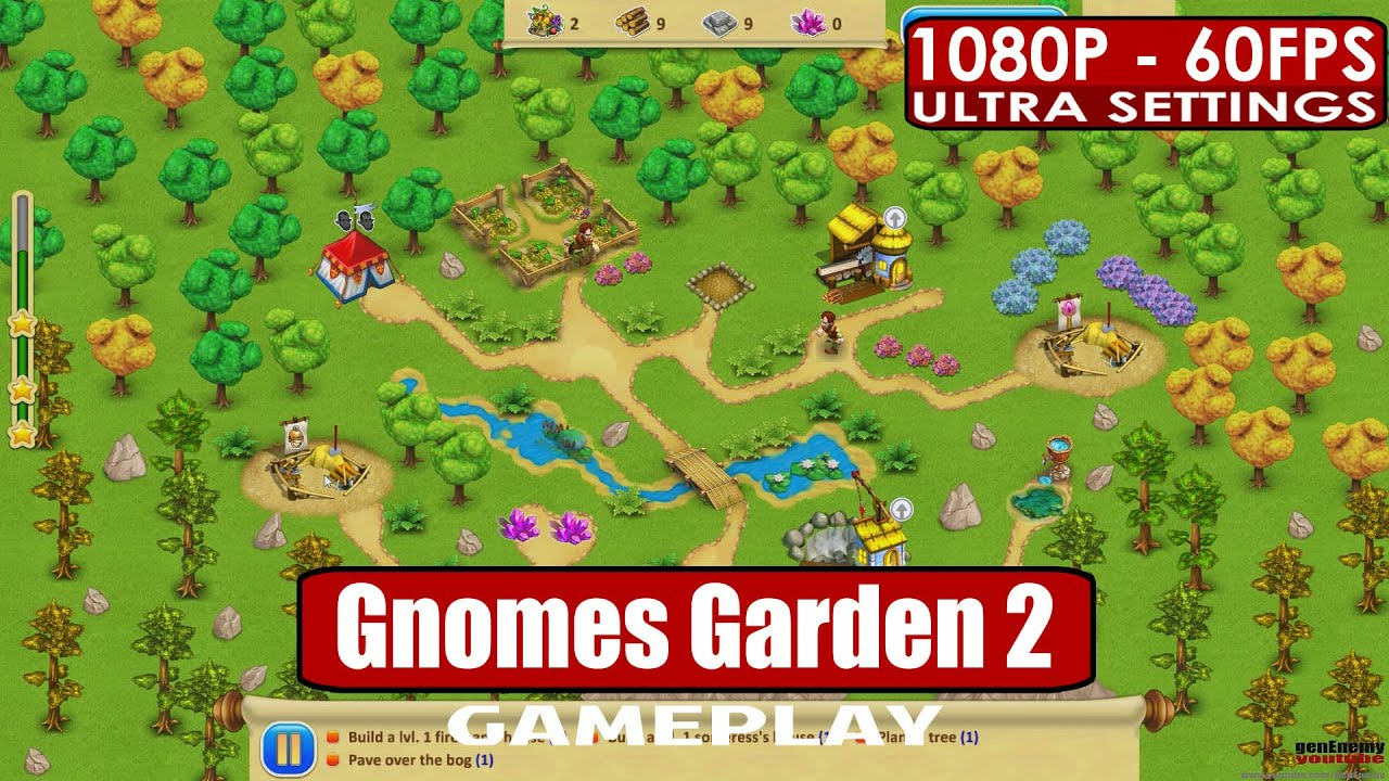 Gnomes Garden 2 Play Pc Hd 1080p 60fps