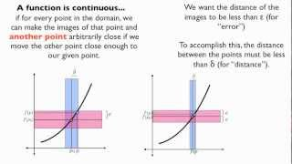 Continuous and Uniformly Continuous Functions
