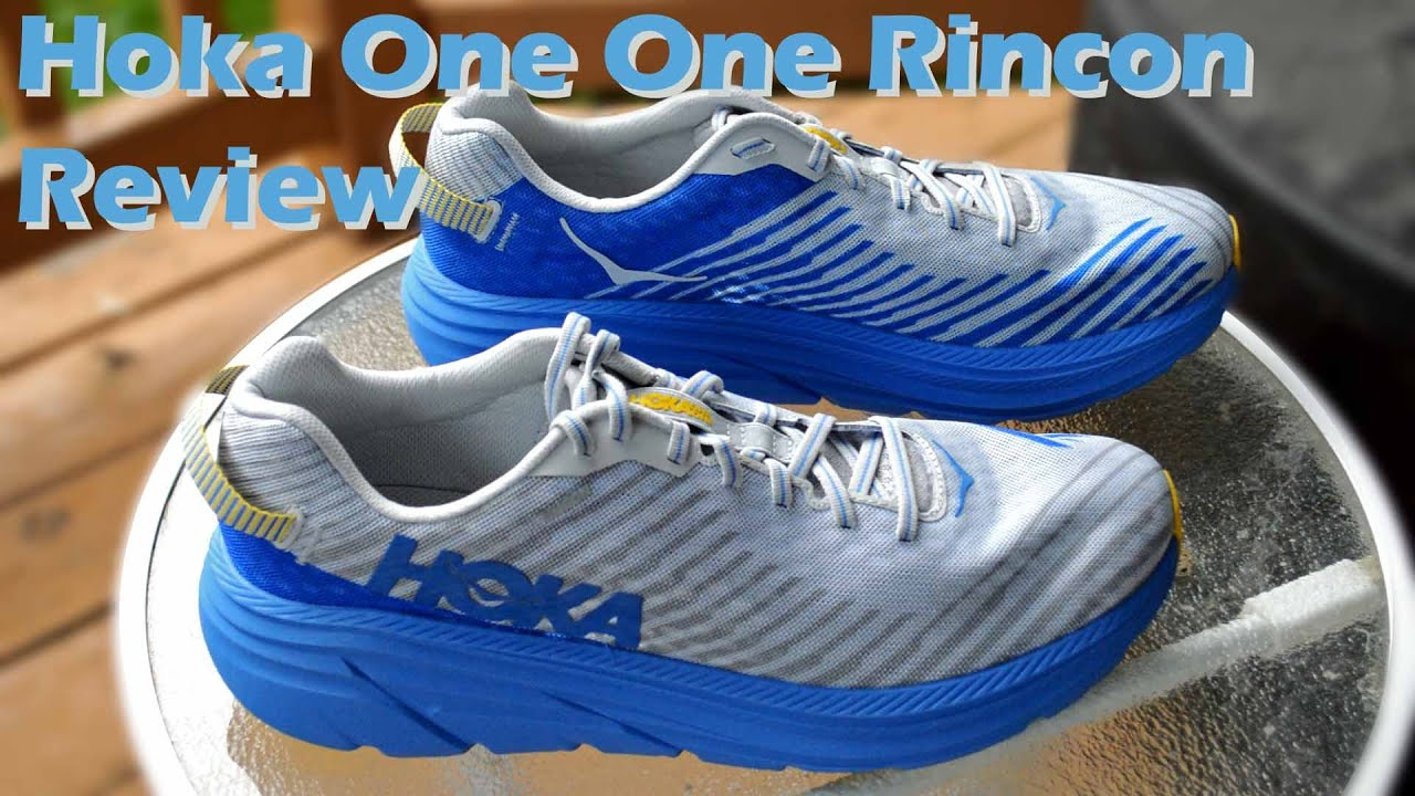 Hoka One One Rincon Full Review - YouTube