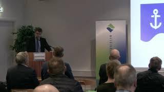 Helgi Abrahamsen Landsstýrismaður á Sjóvinnuforum 2020