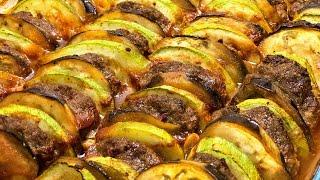 Sebzeli köfte dizmesi / Fırında yapılan pratik yemek tarifi / Ev Lezzetleri