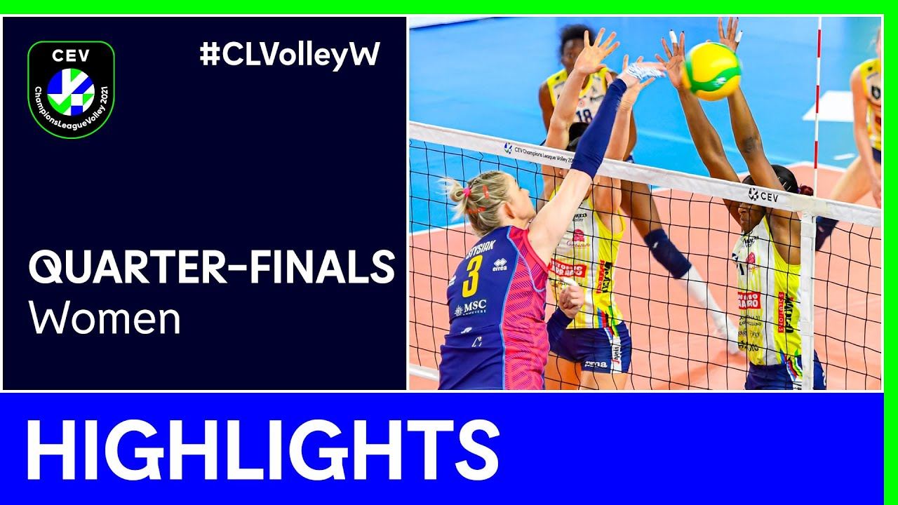 Savino Del Bene SCANDICCI vs. A. Carraro Imoco CONEGLIANO Highlights - #CLVolleyW