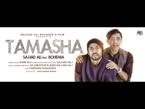 Thumbnail: Sajjad Ali ft. Bohemia - TAMASHA - (Official Video)