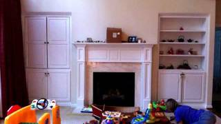 Fireplace Becomes Tv Alcove