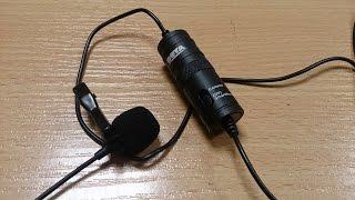 BOYA BY-M1 петличный конденсаторный микрофон из Китая. Алиэкспресс. Обзор. Распаковка.(, 2016-03-19T08:47:35.000Z)
