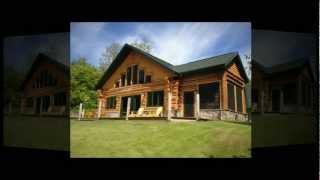 English Lake Escape | Northwest Wisconsin Custom Waterfront Log Home Rental | Vacation Lodging