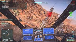 Planetside 2 - M30 Mustang AH - Range and engagement