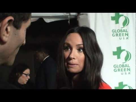 E! News - Catt Sadler Interviewed By Ken Spector - 2013 Global Green USA's Pre-Oscar Party