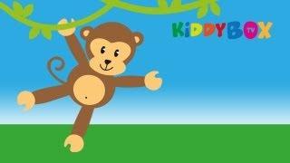 Auf der Mauer auf der Lauer - Kinderlieder (KIDDYBOX.TV)