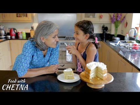 How to make Delicious Coconut Cake - Food with Chetna