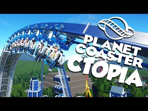 Planet Coaster Alpha 2 Gameplay - Ctopia Tour! - Let's Play Planet Coaster