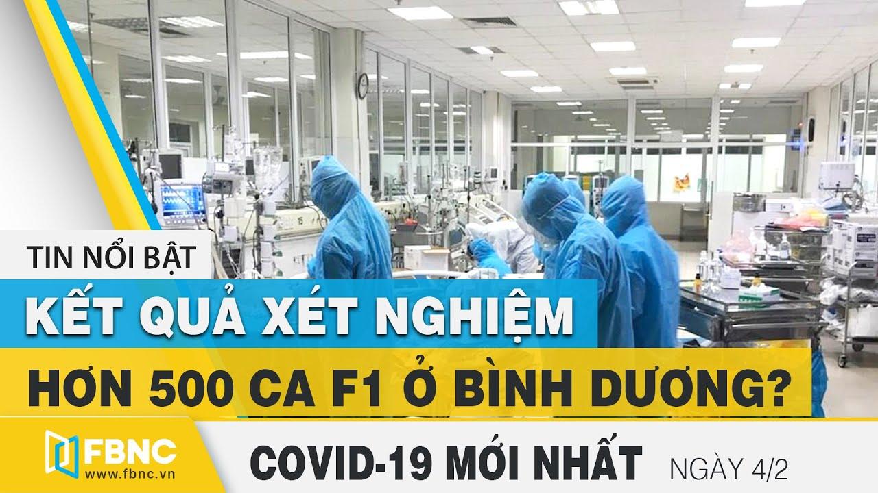 Tin tức Covid-19 mới nhất hôm nay 4/2 | Dich Virus Corona Việt Nam hôm nay | FBNC