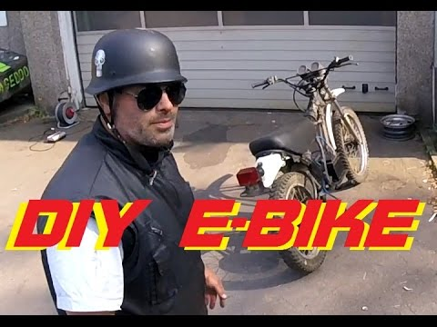 DIY E-Bike/Motorcycle (How to build)
