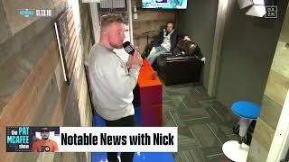 The Pat McAfee Show | Wednesday, November 13th