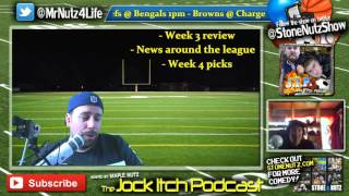 NFL this Week | MLB Clinched Playoff Spots | UFC 192 Cormier vs Gustafsson Review (JIP #03)
