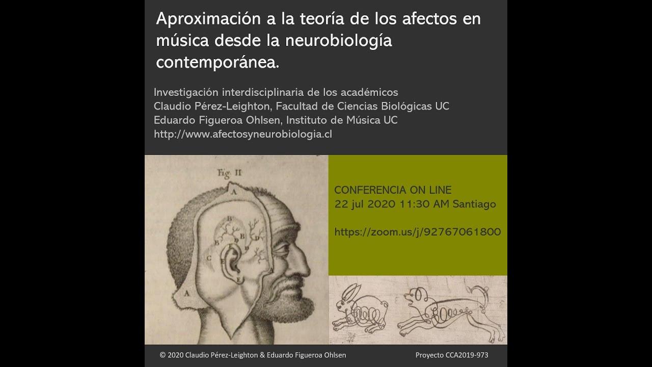 Conferencia de Neurobiología de Musica Barróca y Emociones