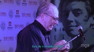 2020 VEKI: Muzika konkludo: kantado de Miguel Fernandez