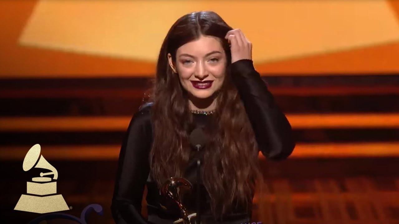 Grammys: Lorde Wins Best Pop Solo Performance