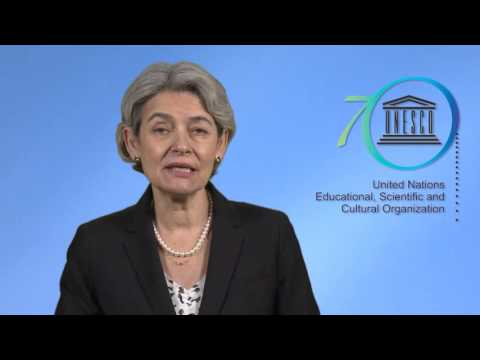 Video message of Ms Irina Bokova, Director-General of UNESCO (10.COM, Windhoek)