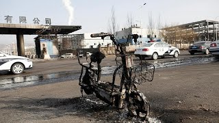 22 قتيلا في انفجار قرب مصنع للمواد الكيميائية في الصين