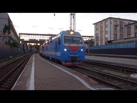 По новому расписанию! // ЭП1М-568 с поездом №246 Санкт-Петербург — Ейск.