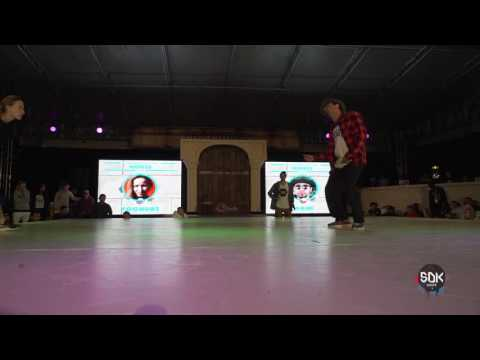 HOUSE DANCE  semi-finals Yoghurt vs Wahe / SDK.EUROPE 2016