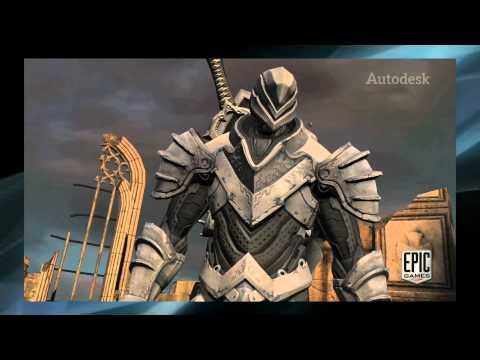 Autodesk 2012 Games Show Reel