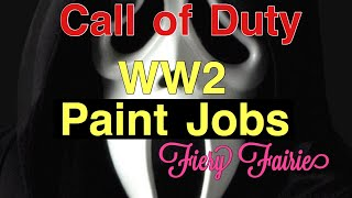 cod wwii paint jobs