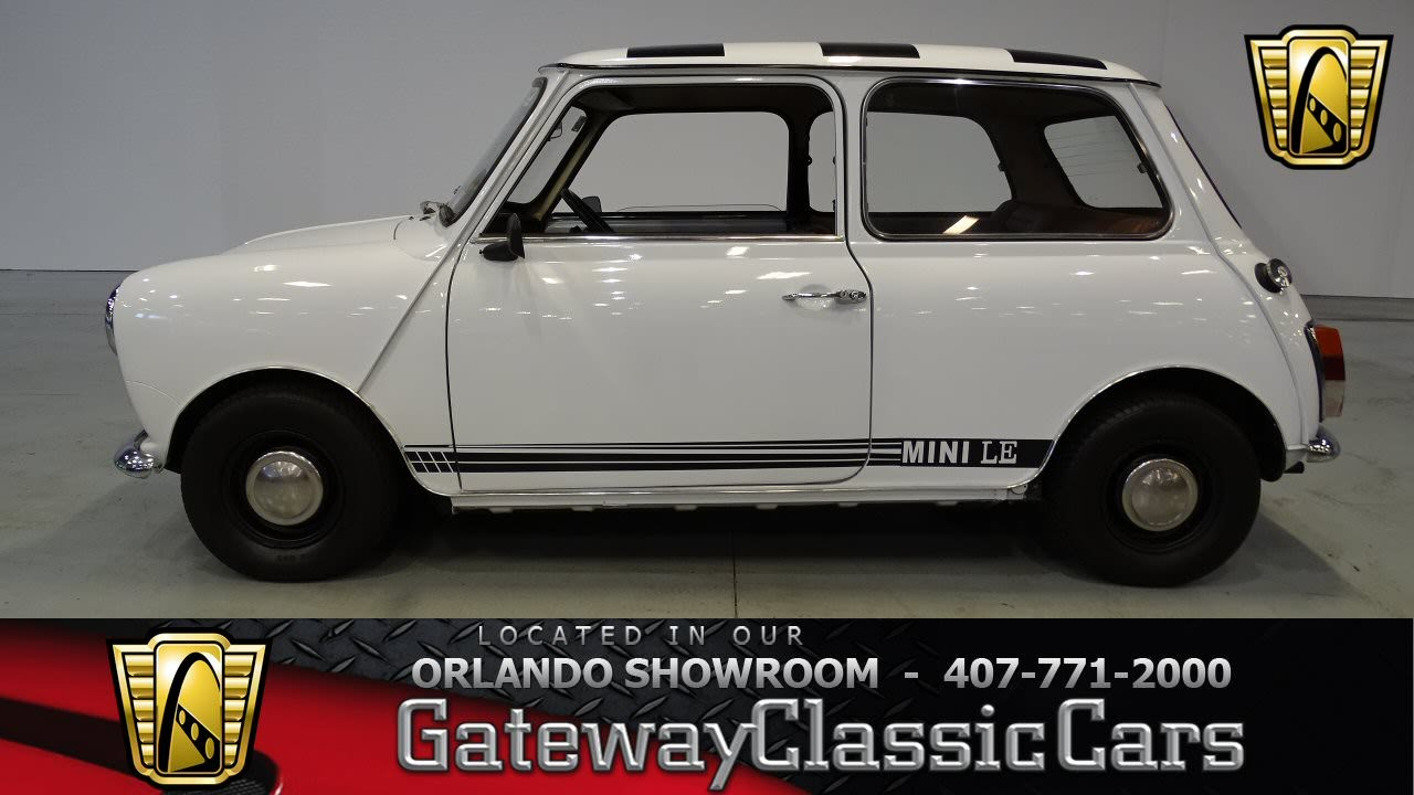 1979 Leyland Mini Gateway Classic Cars Orlando #450 - YouTube