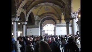 Arches & inner Corridors of Aja Sofija - Hagia Sophia, Istanbul Turkey 2011