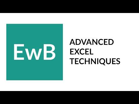 Master Advanced Excel Techniques