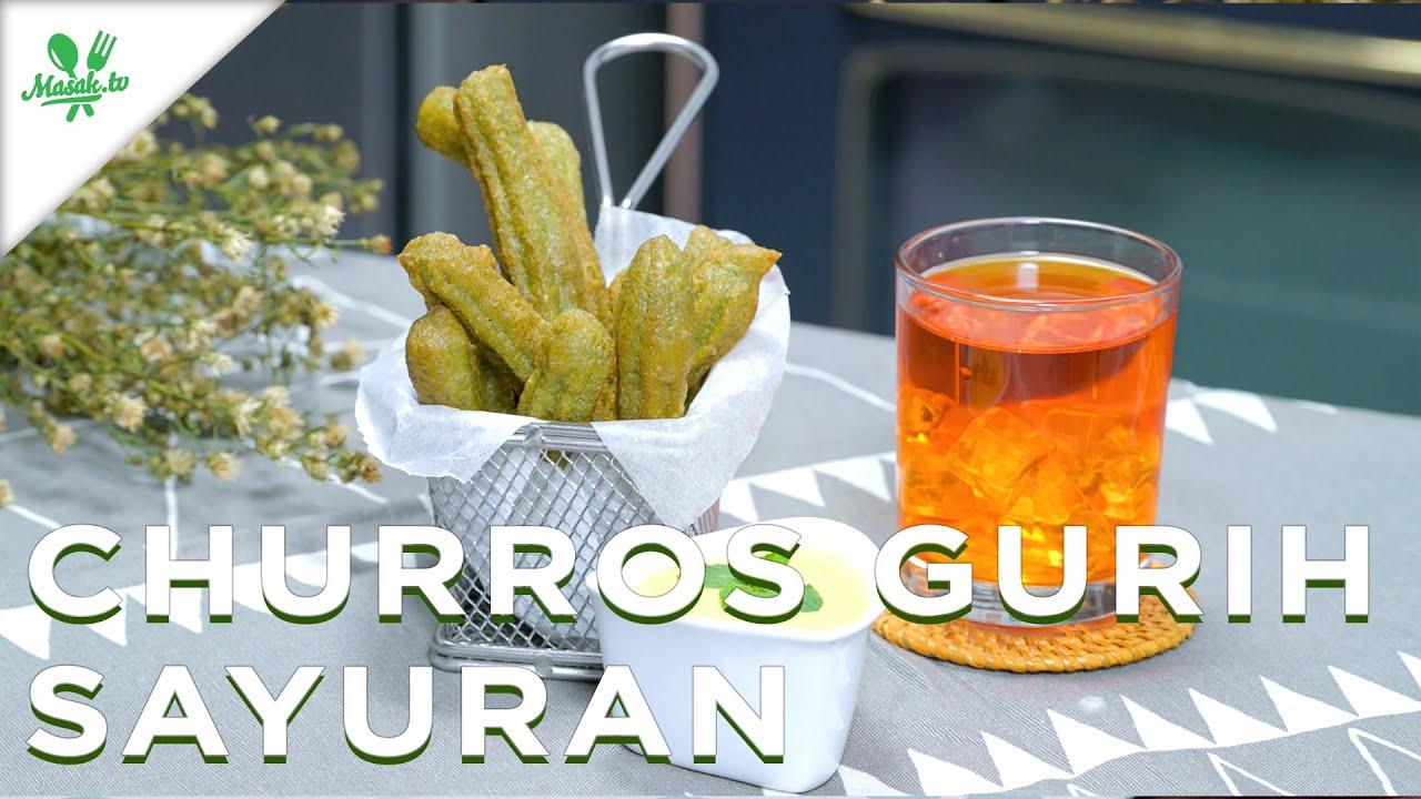 Churros Gurih Sayuran