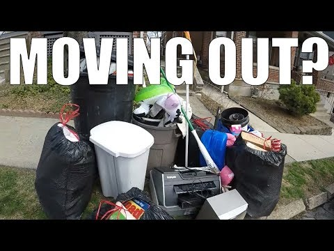 GARBAGE PICKING DAY - Finding Awesome Things Left For Trash!