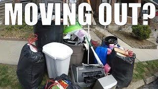 connectYoutube - GARBAGE PICKING DAY - Finding Awesome Things Left For Trash!
