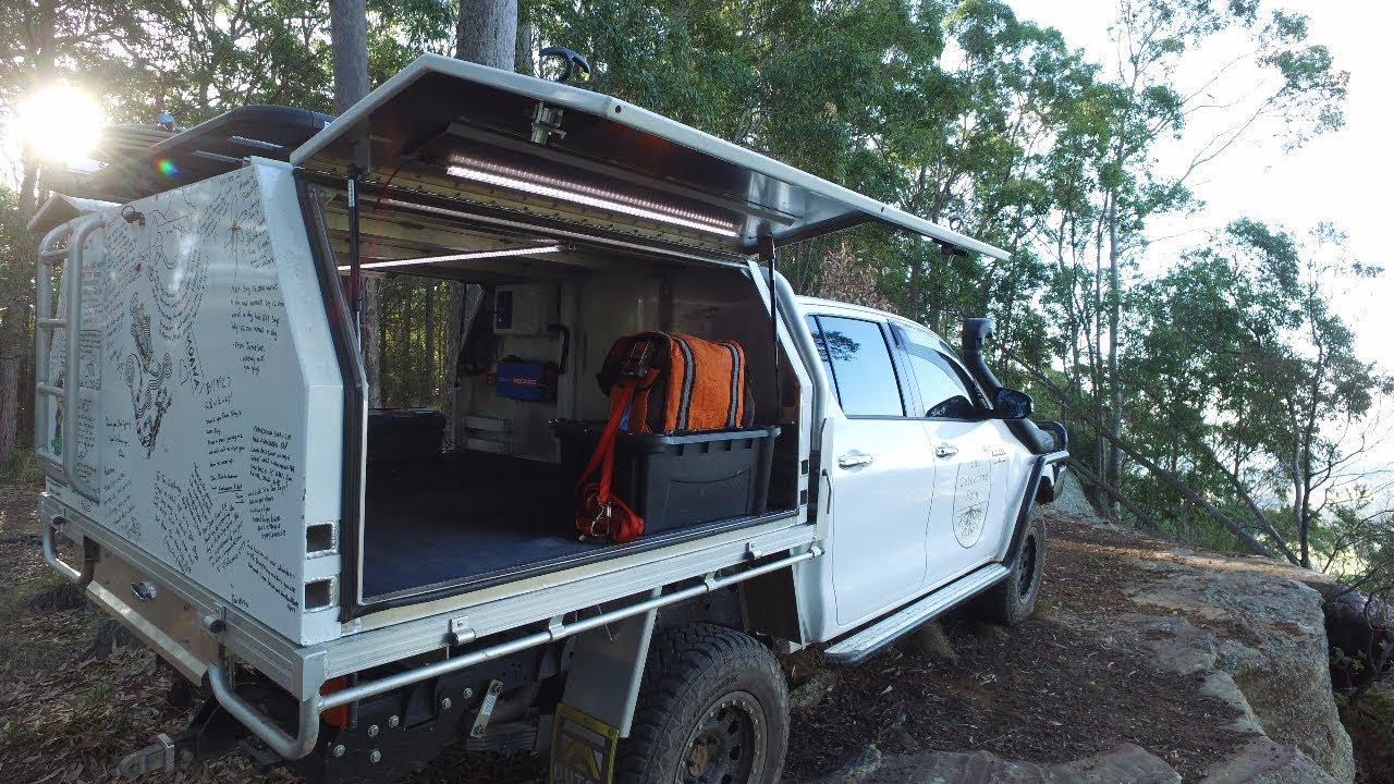 How We Designed The Alloy Canopy For The Hilux Youtube