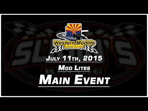 7/11/2015 Canyon Speedway Park - Mod Lite Main