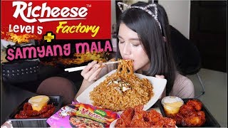 Download Video RICHEESE LEVEL 5 + SAMYANG MALA : EXTREME CHALLENGE!! MP3 3GP MP4