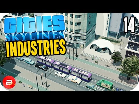 Cities: Skylines Industries - The Teatroit Citea Metro! #14 (Industries DLC)