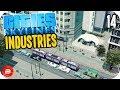 Cities: Skylines Industries - The Teatroit Citea Metro! #14 (Industries DLC)