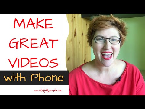 how to make a youtube video with phone? - tips you should use as your professional video checklist