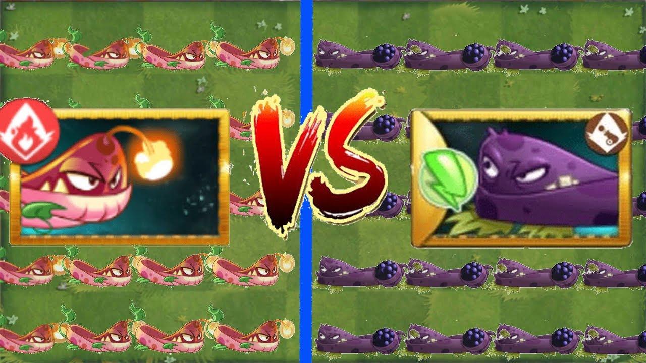 Blastberry Vine Vs Pyre Vine   Plants vs Zombies 2   Version 7 6 1