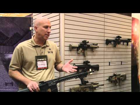 SHOT Show 2014 - Bravo Company Manufacturing's new products!