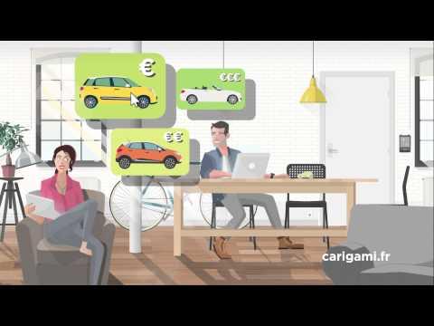 carigami la location de voiture petit prix la pub tv youtube. Black Bedroom Furniture Sets. Home Design Ideas