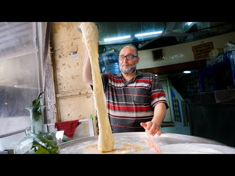 Lebanon Street Food - MELTED CHEESE WATERFALL + Ultimate Food Tour in Tripoli!